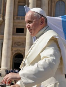 Franziskus hat als erster Papst dem Umweltschutz eine ganze Enzyklika gewidmet. Foto: Annett Klingner